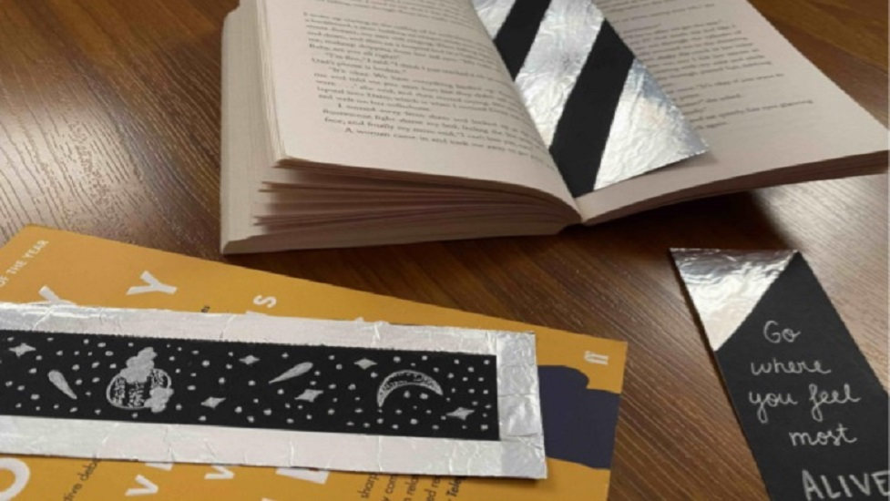 bookmarks and books