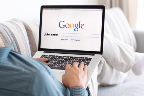 Searching yourself on Google