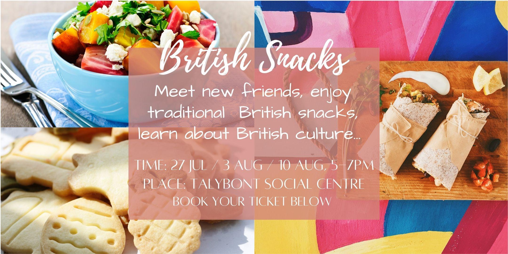 british snacks