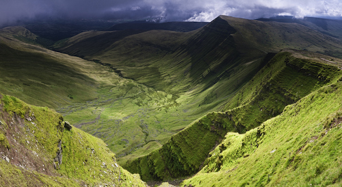 Brecon Beacons mountains Wales
