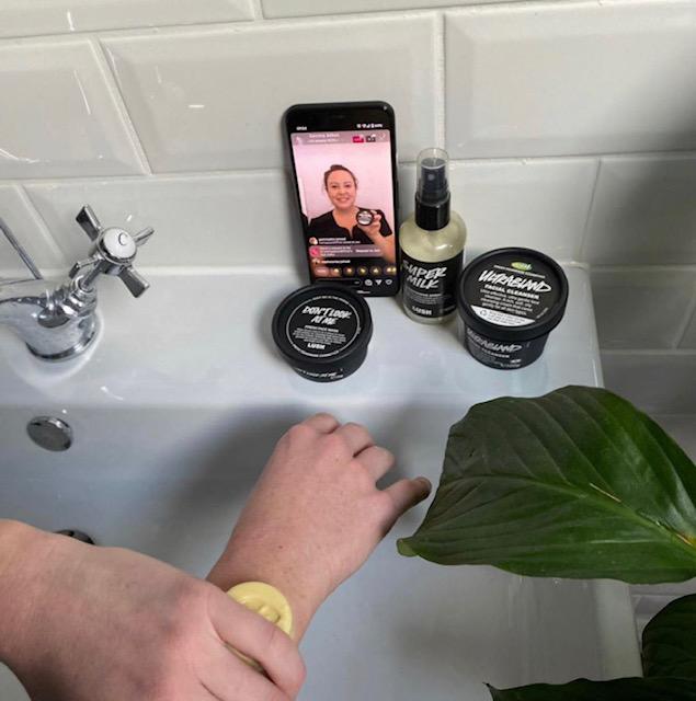 facetime instructor for pampering