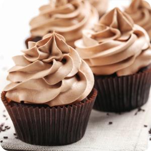 a close up of a chocolate cake
