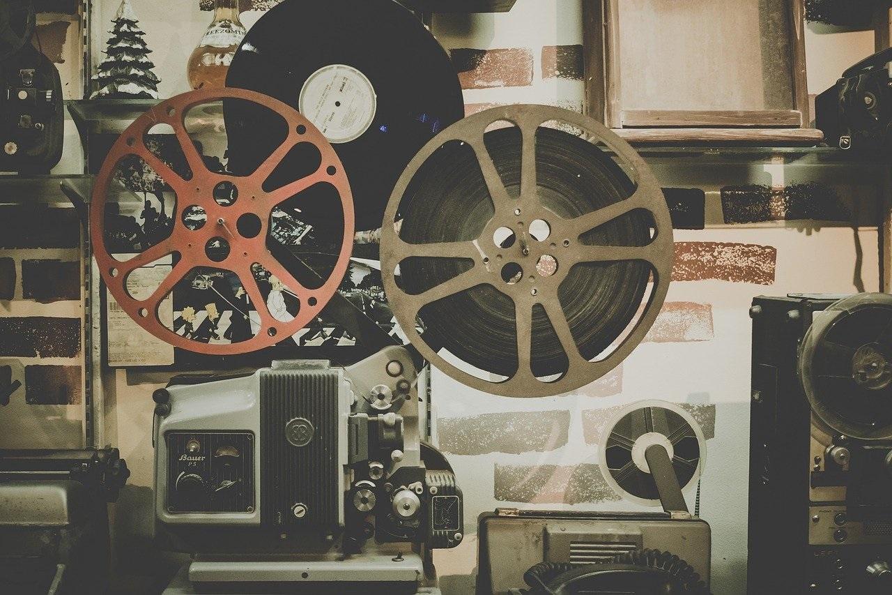 old movie reels