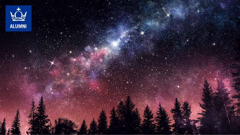 a star filled sky