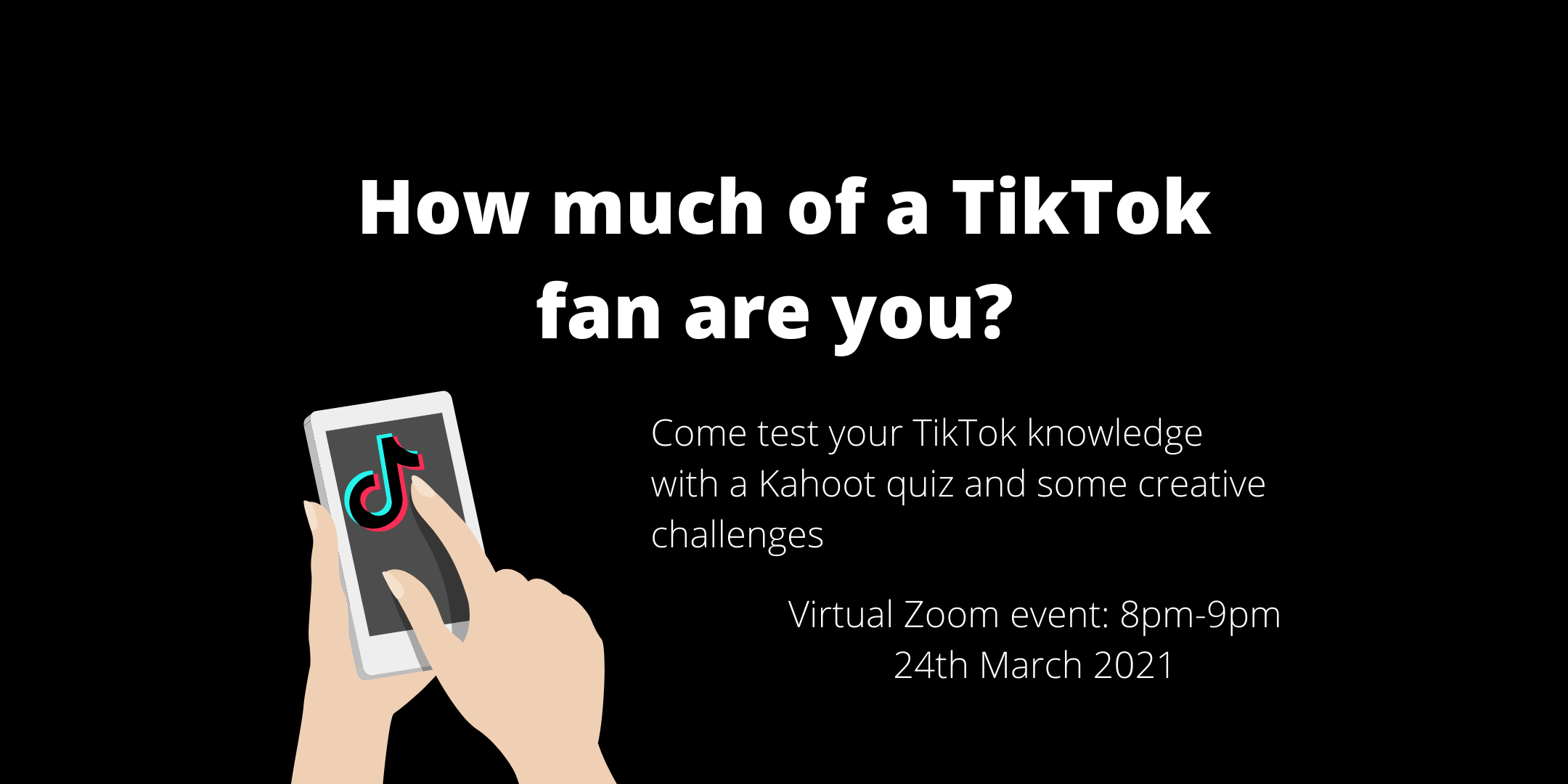 Mobile phone with TikTok icon