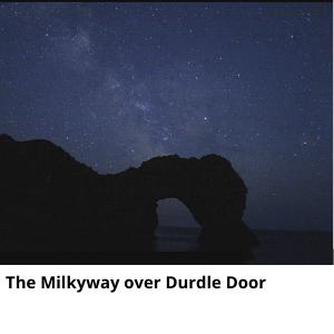 The Milkyway over Durdle Door