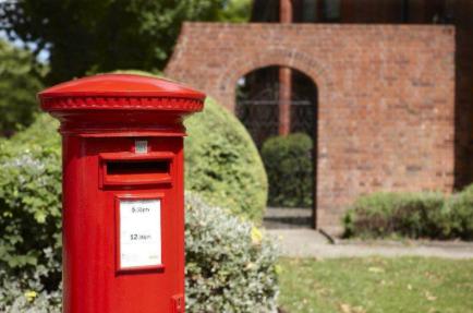a post box