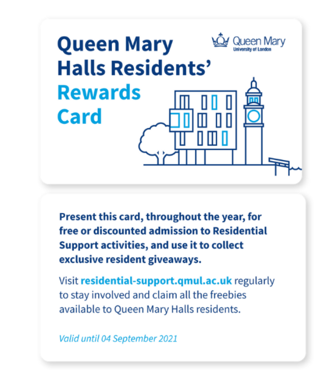 residents reward card